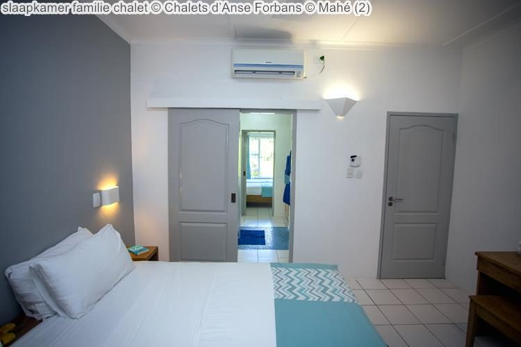 slaapkamer familie chalet Chalets d'Anse Forbans Mahé