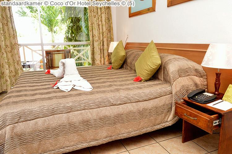 standaardkamer Coco d'Or Hotel Seychellen