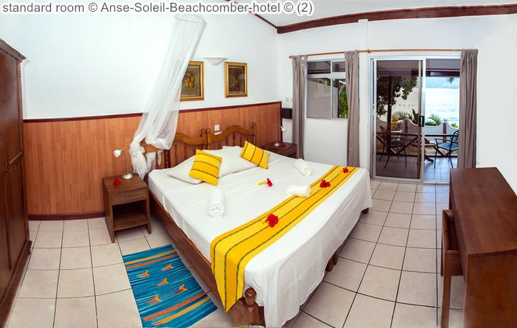 standaardkamer Anse Soleil Beachcomber hotel uitzicht naar buiten Mahé Seychellen
