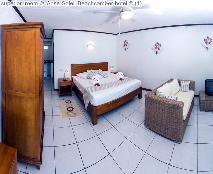 Superior Room © Anse Soleil Beachcomber Hotel ©