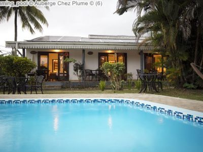 swimming pool Auberge Chez Plume