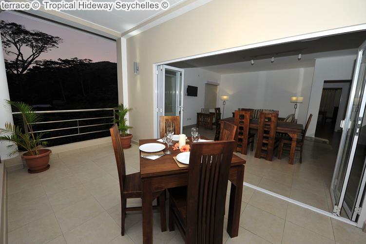 terrace Tropical Hideway Seychelles