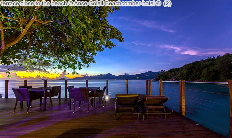 Terrace Close To The Beach © Anse Soleil Beachcomber Hotel ©