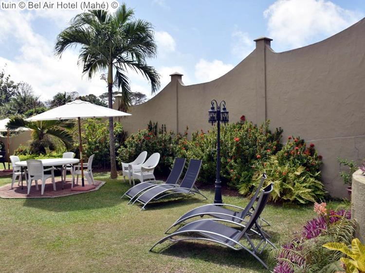 tuin Bel Air Hotel Mahé