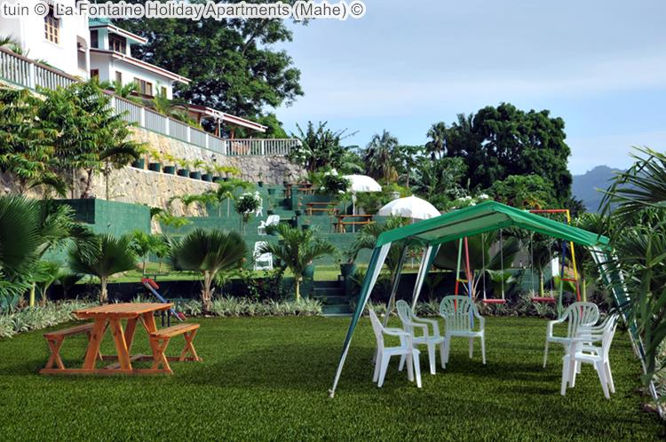 tuin La Fontaine Holiday Apartments Mahe