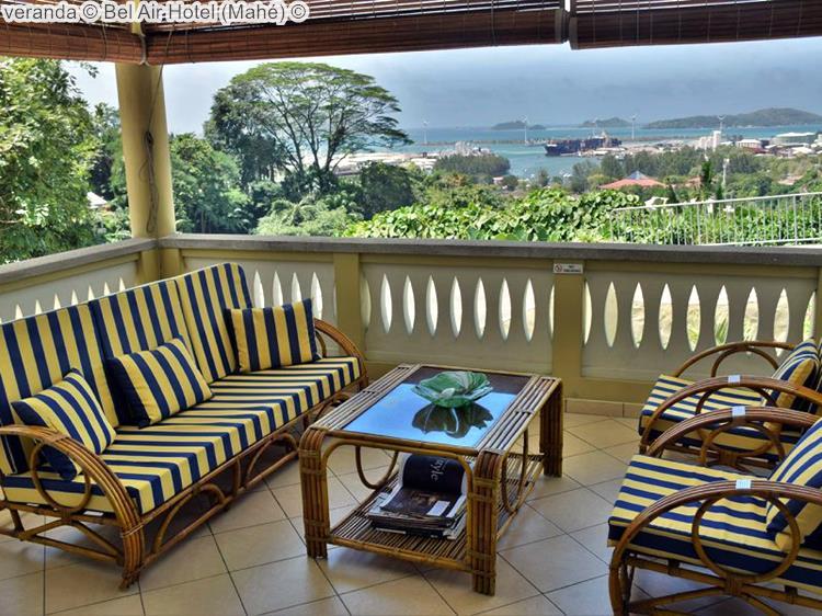 veranda Bel Air Hotel Mahé