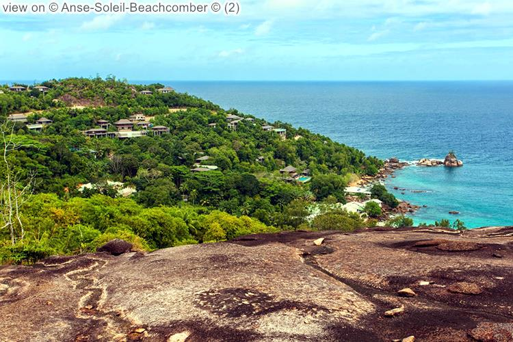 gezicht opAnse Soleil Beachcomber Mahé Seychellen