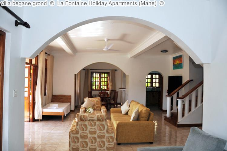 villa begane grond La Fontaine Holiday Apartments Mahe