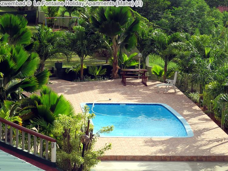 zwembad La Fontaine Holiday Apartments Mahe