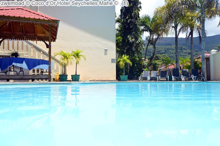 zwembad Coco d'Or Hotel Seychellen