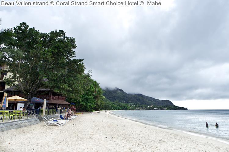 Beau Vallon strand Coral Strand Smart Choice Hotel Mahé