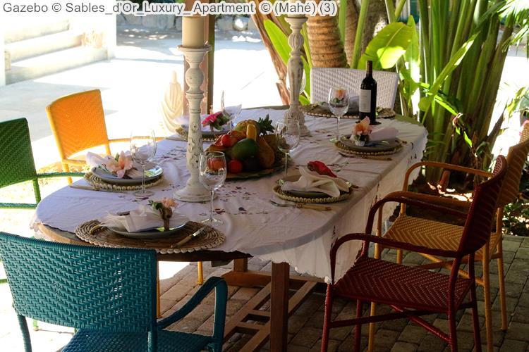 Gazebo Sables d'Or Luxury Apartment Mahé