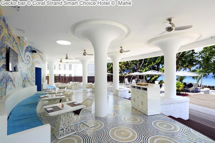 Gecko bar Coral Strand Smart Choice Hotel Mahé