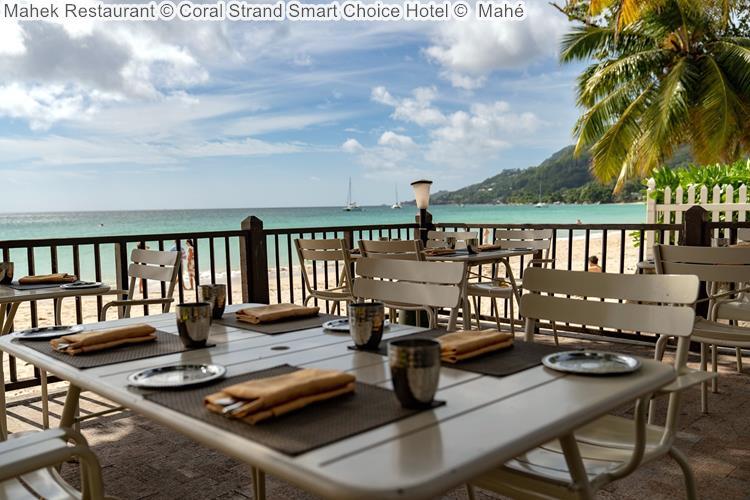 Mahek Restaurant Coral Strand Smart Choice Hotel Mahé