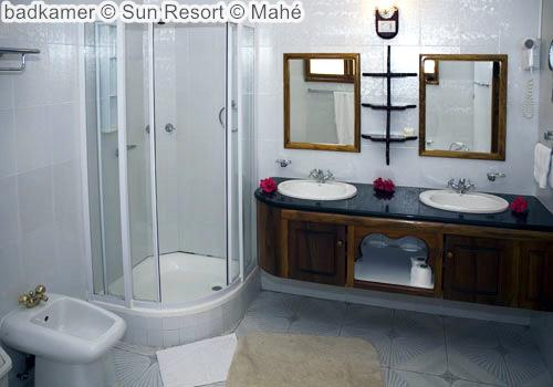 badkamer Sun Resort Mahé