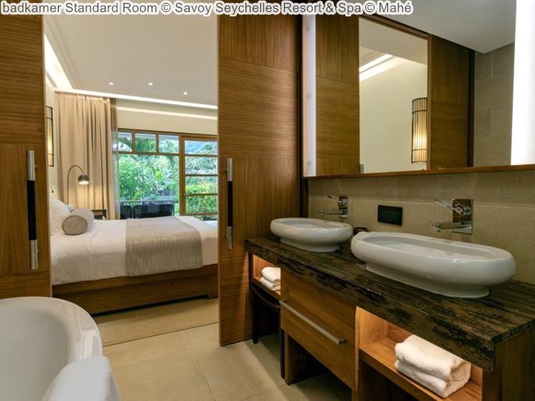 badkamer Standard Room Savoy Seychelles Resort & Spa Mahé