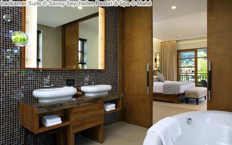 badkamer Suite Savoy Seychelles Resort & Spa Mahé