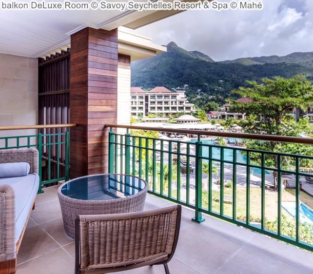 balkon DeLuxe Room Savoy Seychelles Resort & Spa Mahé