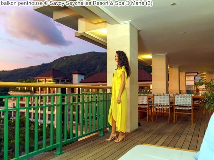 balkon penthouse Savoy Seychelles Resort & Spa Mahé