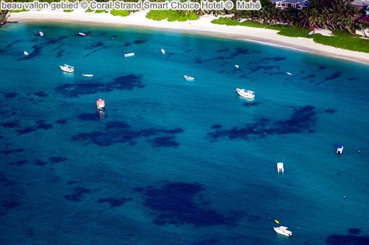 beau vallon gebied Coral Strand Smart Choice Hotel Mahé