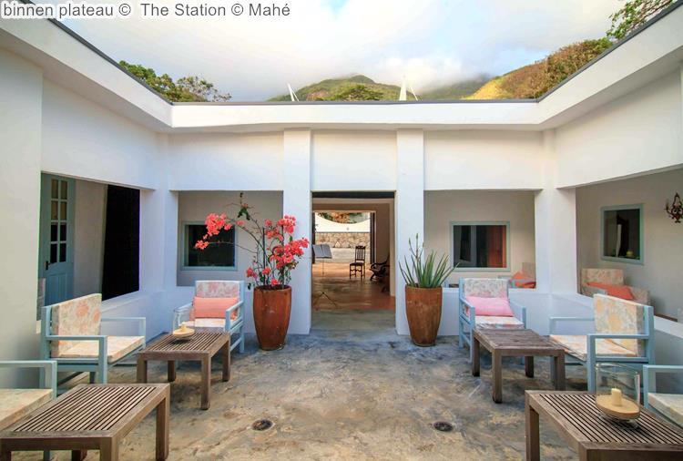 binnen plateau The Station Mahé
