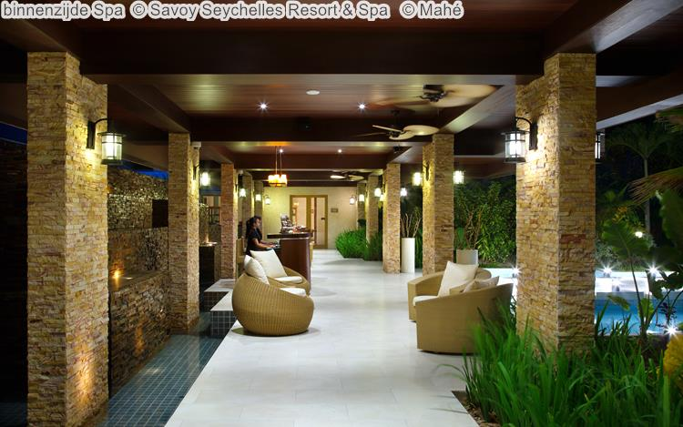 binnenzijde Spa Savoy Seychelles Resort & Spa Mahé