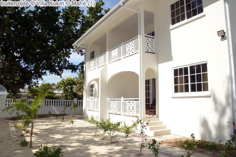 buitenzijde Villa Koket Mahé