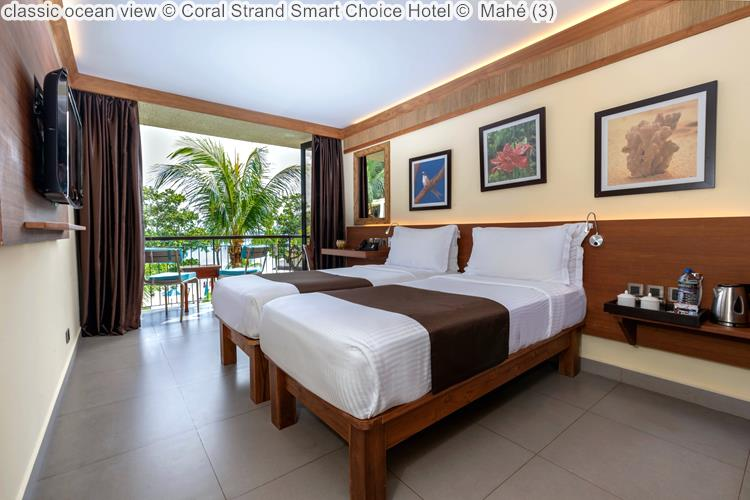 classic ocean view Coral Strand Smart Choice Hotel Mahé