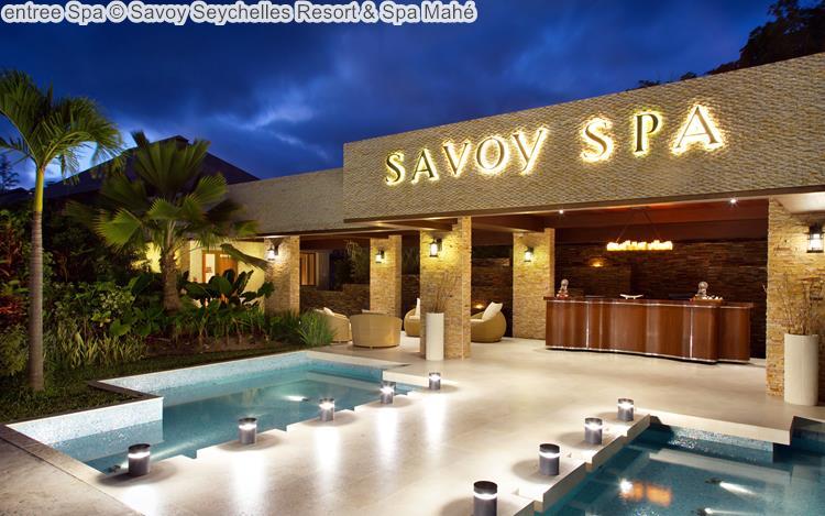 entree Spa Savoy Seychelles Resort & Spa Mahé