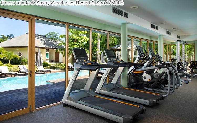 fitness ruimte Savoy Seychelles Resort & Spa Mahé