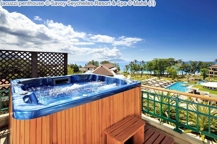 jacuzzi penthouse Savoy Seychelles Resort & Spa Mahé