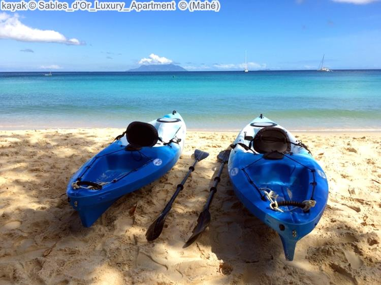 kayak Sables d'Or Luxury Apartment Mahé