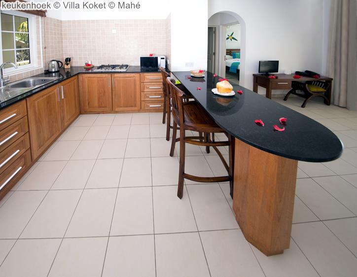 keukenhoek Villa Koket Mahé