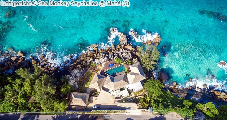 luchtgezicht Sea Monkey Seychelles @ Mahé