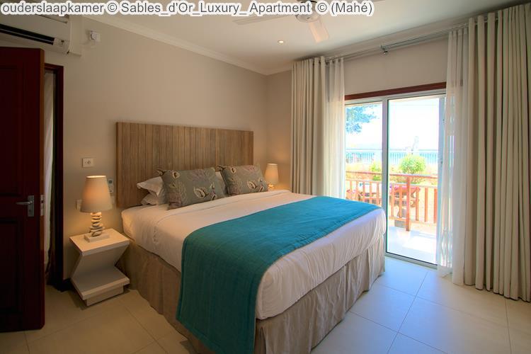 ouderslaapkamer Sables d'Or Luxury Apartment Mahé