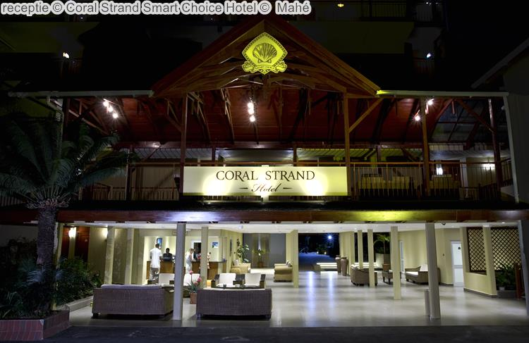 receptie Coral Strand Smart Choice Hotel Mahé