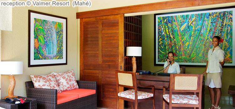reception Valmer Resort Mahé