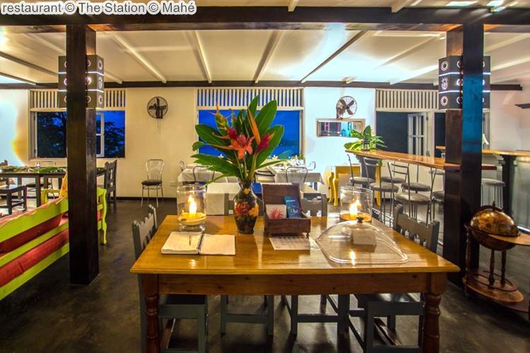 restaurant The Station Mahé