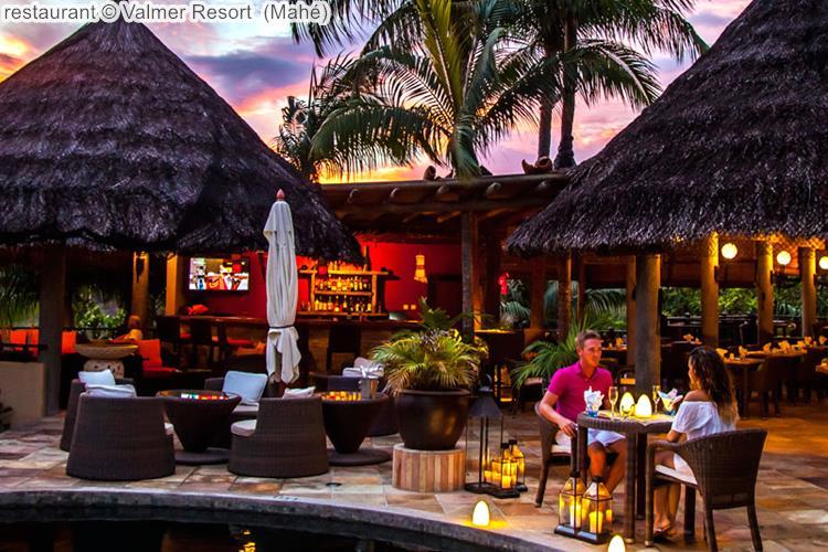 restaurant Valmer Resort Mahé