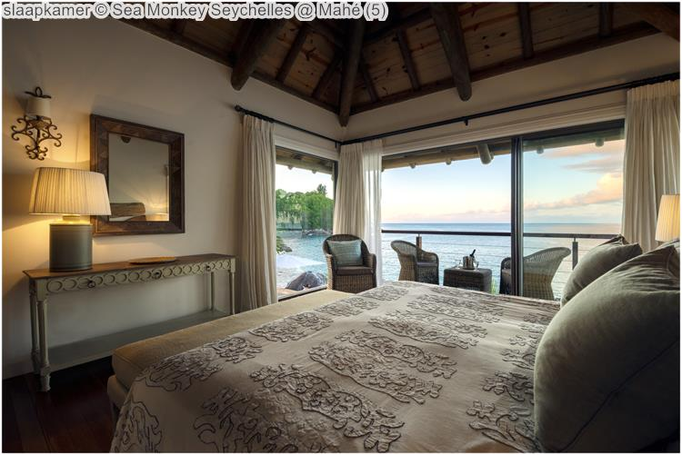 slaapkamer Sea Monkey Seychelles @ Mahé