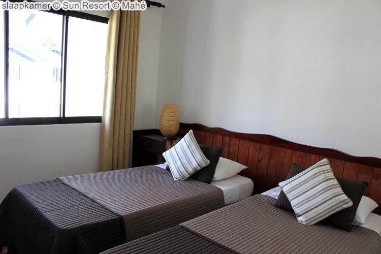 slaapkamer Sun Resort Mahé