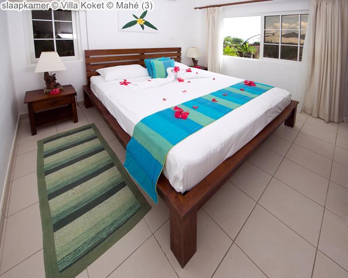 slaapkamer Villa Koket Mahé