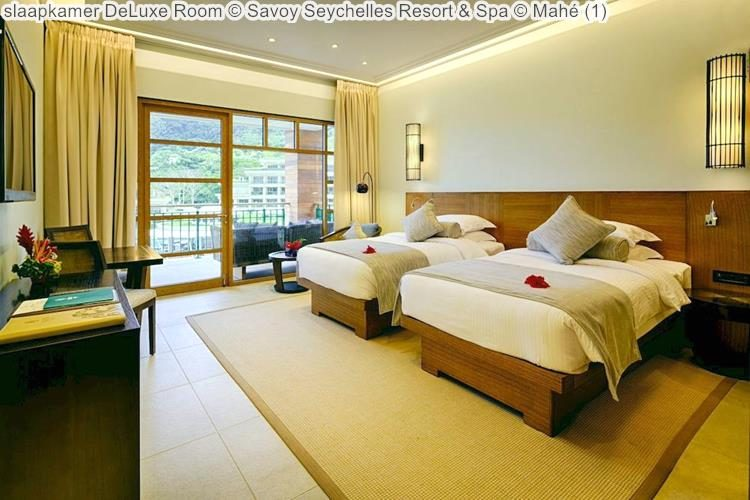 slaapkamer DeLuxe Room Savoy Seychelles Resort & Spa Mahé
