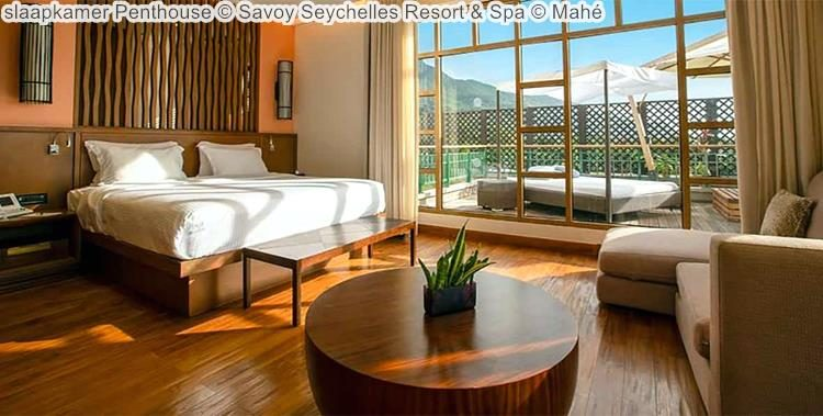 slaapkamer Penthouse Savoy Seychelles Resort & Spa Mahé