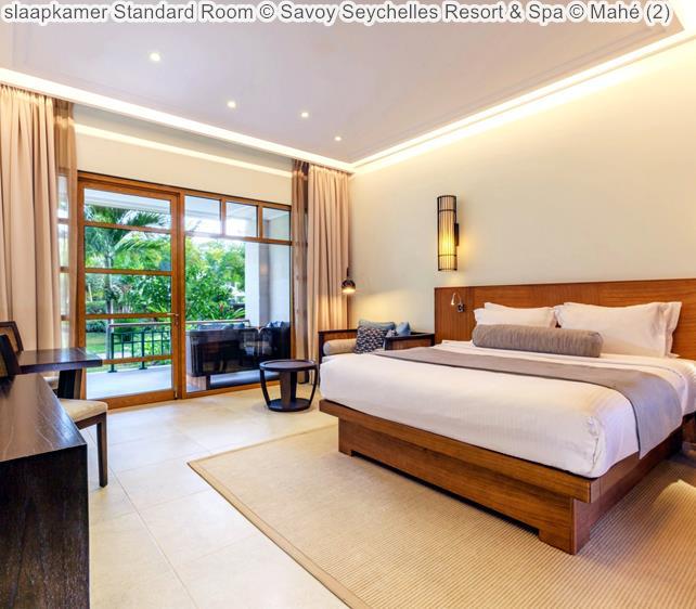 slaapkamer Standard Room Savoy Seychelles Resort & Spa Mahé