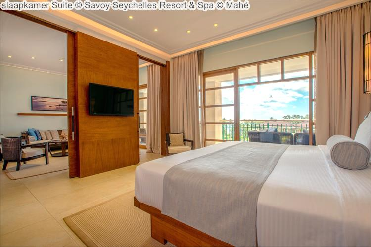 slaapkamer Suite Savoy Seychelles Resort & Spa Mahé