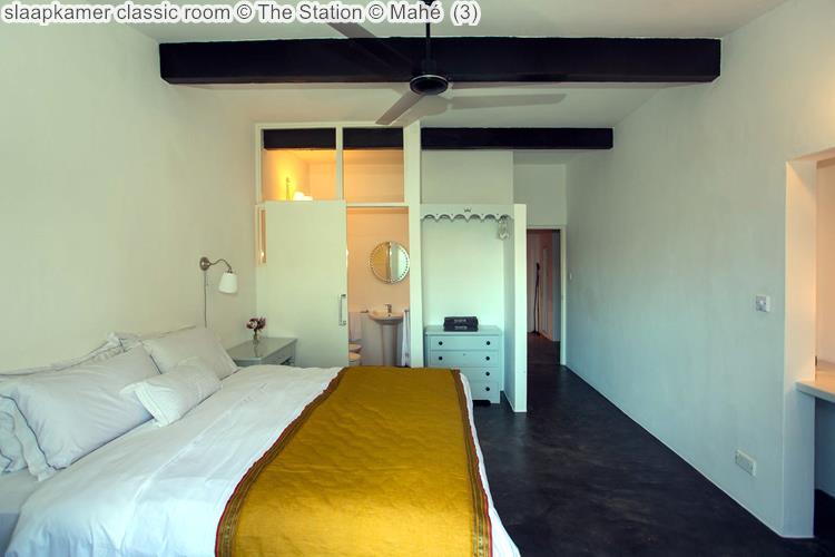 slaapkamer classic room The Station Mahé