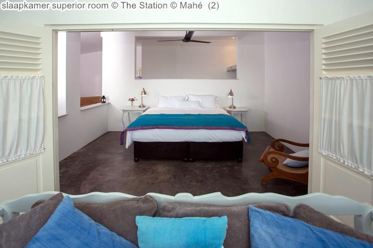 slaapkamer superior room The Station Mahé