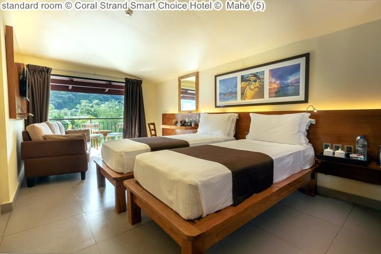 standard room Coral Strand Smart Choice Hotel Mahé