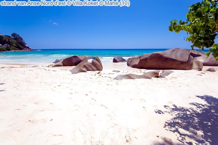 strand van Anse Nord d'est Villa Koket Mahé